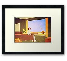 The Desert Motel Framed Print