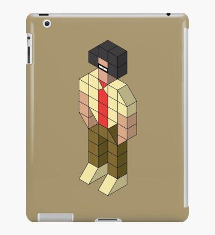 Isometric Moss iPad Case/Skin
