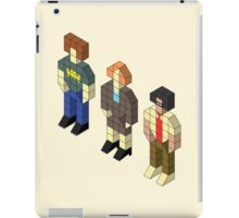 Isometric IT Crowd Trio iPad Case/Skin