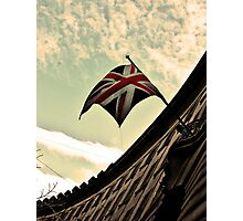 Flying the Flag Photographic Print