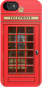 British Red Phone box with St Pauls by John Edwards