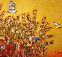 Wheatfield Edge by artgardener
