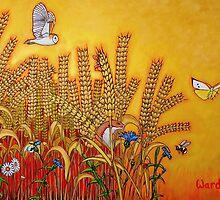 Wheatfield Edge by artgardener