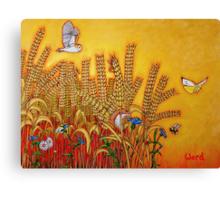 Wheatfield Edge Canvas Print