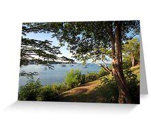 Prickly Bay, Grenada. Greeting Card