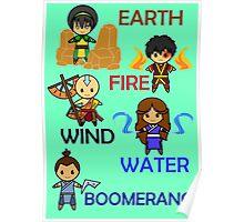 Captain Element Poster
