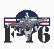 F-16 Fighting Falcon by J Biggadike