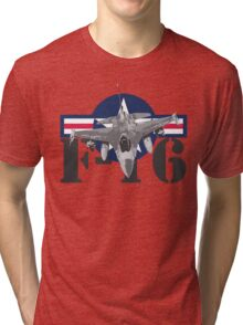 F-16 Fighting Falcon Tri-blend T-Shirt