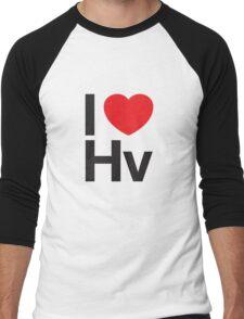 I HEART HELVETICA Men's Baseball ¾ T-Shirt