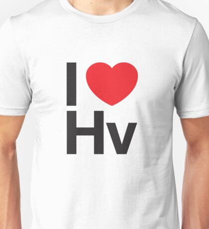 I HEART HELVETICA Unisex T-Shirt