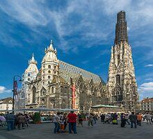 St. Stephen's Cathedral, Vienna, Austria by Ivo Velinov