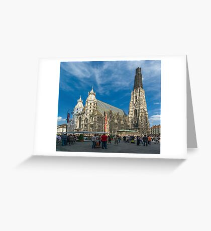 St. Stephen's Cathedral, Vienna, Austria Greeting Card