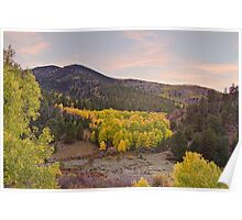 Bananza Autumn View Poster