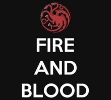House Targaryen Fire And Blood by Phaedrart