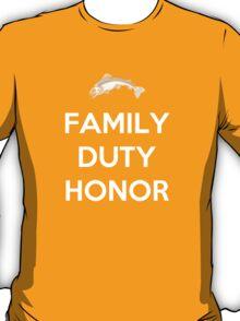 House Tully Family Duty Honor T-Shirt