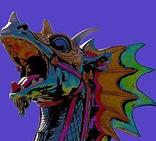 Dragon Figurehead by mokacat