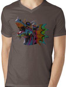 Dragon Figurehead Mens V-Neck T-Shirt