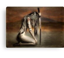 THE SAMURAI'S DAUGHTER Canvas Print
