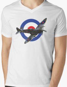 Supermarine Spitfire Mens V-Neck T-Shirt