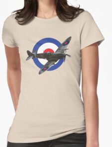 Supermarine Spitfire Womens Fitted T-Shirt