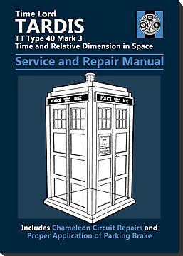 Tardis Service and Repair Manual by Adho1982