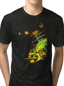 Dalek Beta – Gold Tri-blend T-Shirt