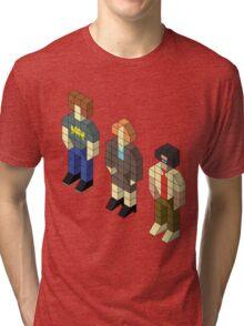 Isometric IT Crowd Trio Tri-blend T-Shirt