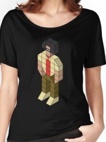 Isometric Moss Women's Relaxed Fit T-Shirt