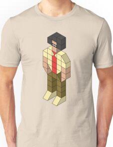 Isometric Moss Unisex T-Shirt