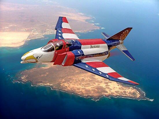 McDonnell Phantom F4-J  - 'Bicentennial' by Colin J Williams Photography