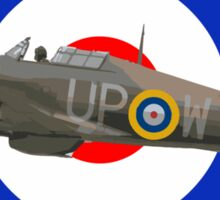Hawker Hurricane Sticker