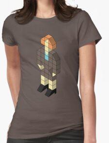 Isometric Jen Womens Fitted T-Shirt