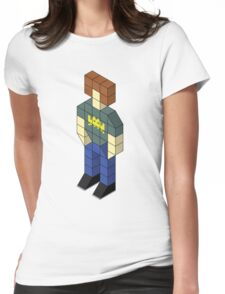 Isometric Roy Womens Fitted T-Shirt