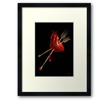 DAMAGED NATIONS Framed Print