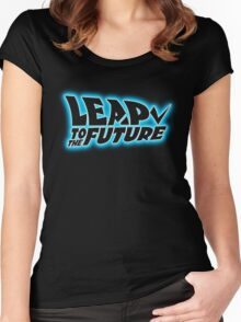 Leap to the Future Women's Fitted Scoop T-Shirt
