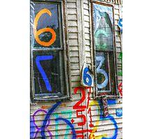 Abandoned urban life  Photographic Print