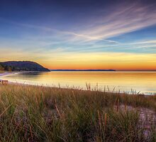 Van's Beach Sunset by Megan Noble