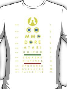arcade eye chart T-Shirt