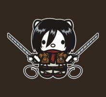 Hello Mikasa by SaMtRoNiKa