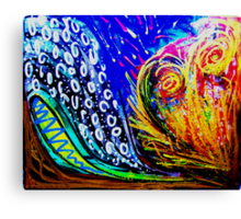 Earth, Wind, Water & Fire Canvas Print