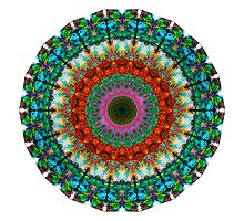 Deep Love - Mandala Art By Sharon Cummings by Sharon Cummings