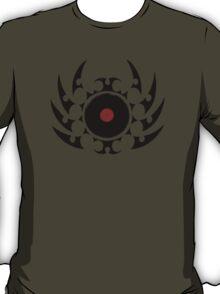 Retro Vinyl Records - Vinyl Tribal Spikes - Cool Vector Music DJ T-Shirt and Stickers T-Shirt