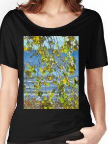 Lake Michigan in Sheboygan, Wisconsin Women's Relaxed Fit T-Shirt