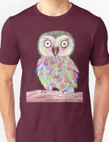 Rainbow Owl T-Shirt
