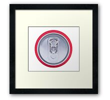 Drink can Framed Print