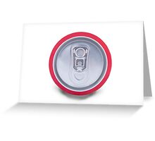 Drink can shadow Greeting Card