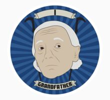 One - Grandfather - Sticker by Ebonrook