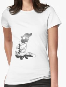 Lone Fox Womens Fitted T-Shirt