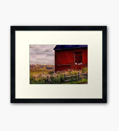 """"""" The View """" Framed Print"""
