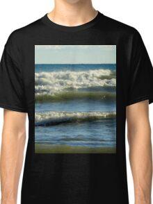 Waves of Lake Michigan in Sheboygan, WI Classic T-Shirt